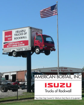 Izuzu Trucks Rockwall Firefighters