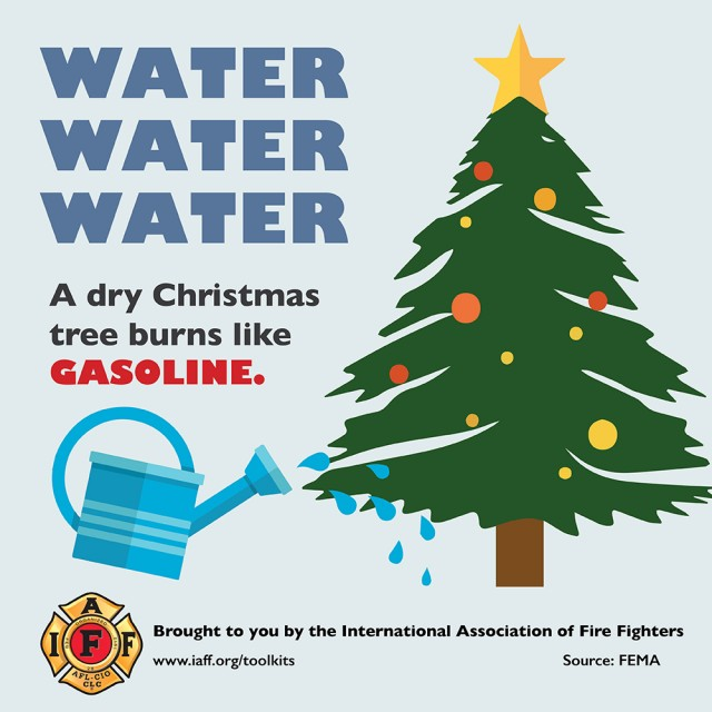 Firefighters Offer Tips for a Safe and Happy Holiday Season